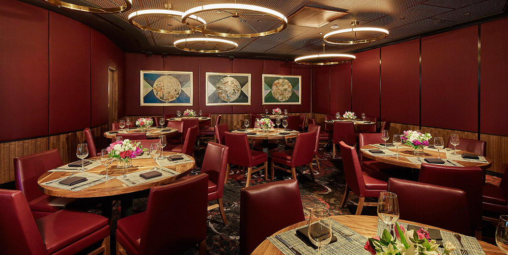 Del Frisco's Double Eagle Steakhouse Dallas Eagle 2 private dining room