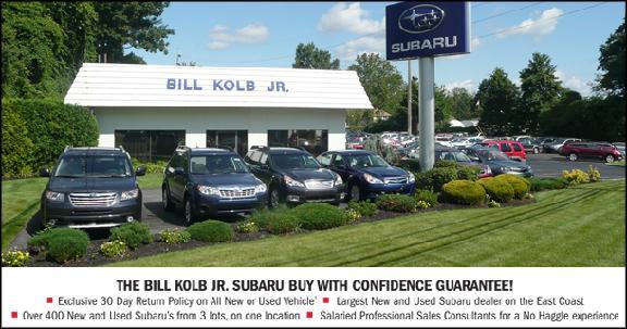 Bill kolb subaru coupons
