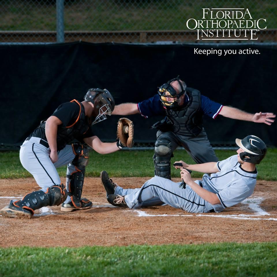 Florida Orthopaedic Institute Keeping You Active - Baseball