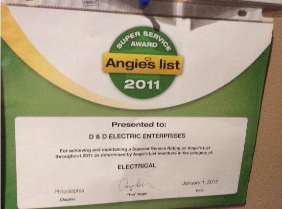 D & D Electric Enterprises, Inc.