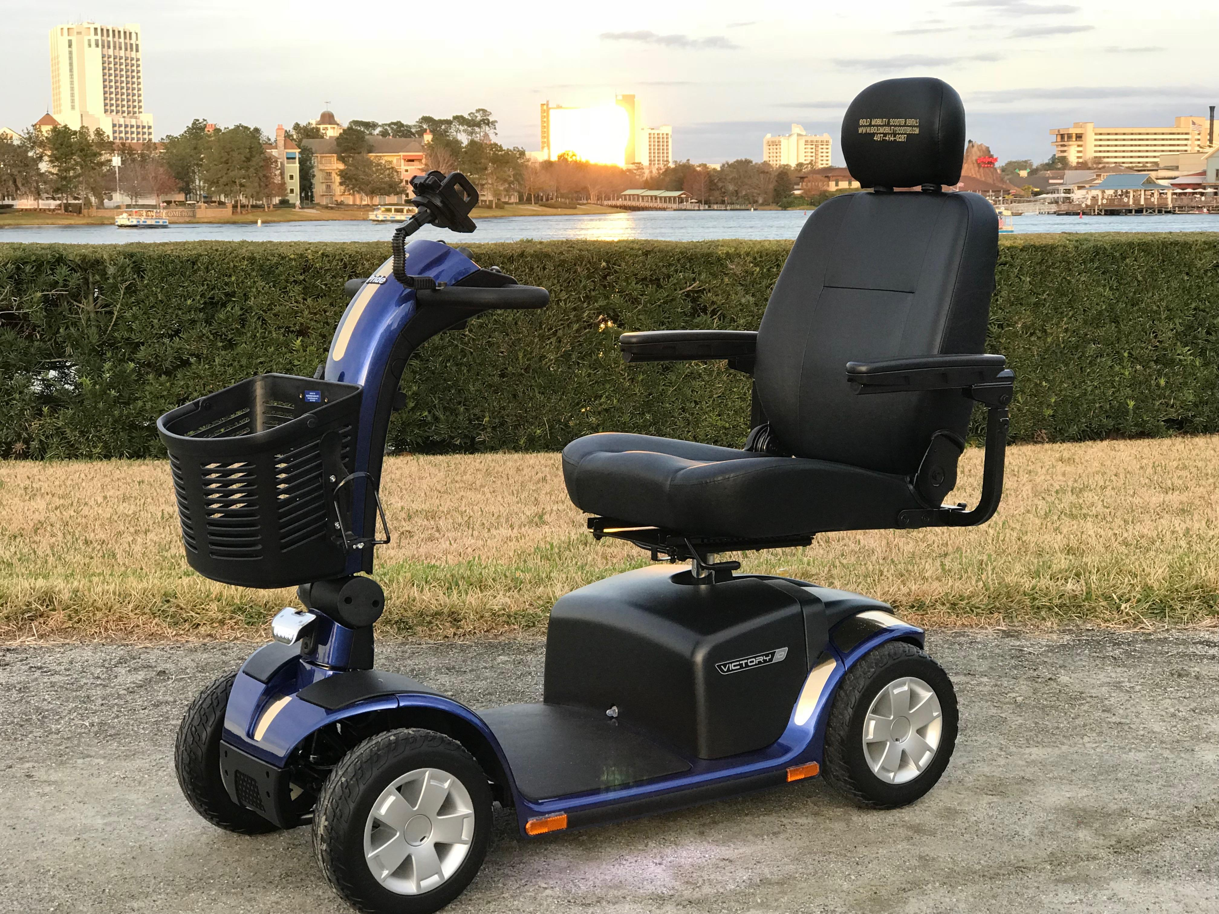 Gold mobility scooters llc medical equipment supplies for Disney world motorized scooter rental