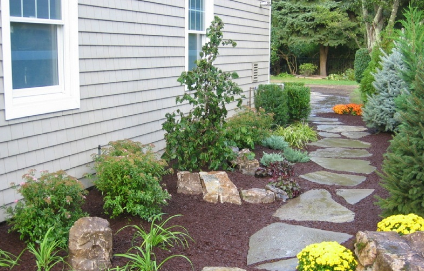 Basics landscaping co inc deer park new york ny for Basic landscaping