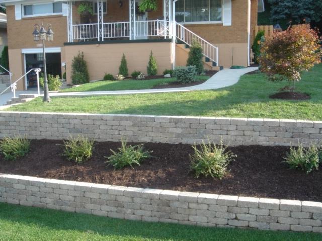 Willamette valley landscape management in eugene or 97404 for Landscaping garden walls