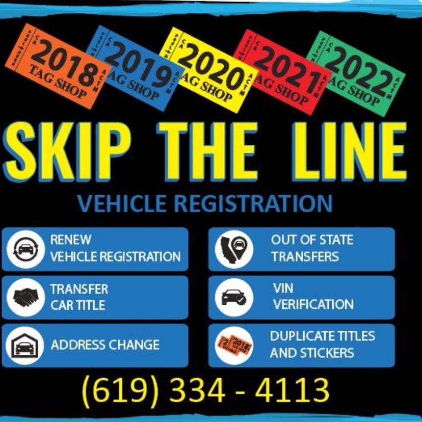 Skip The Line DMV Services - El Cajon