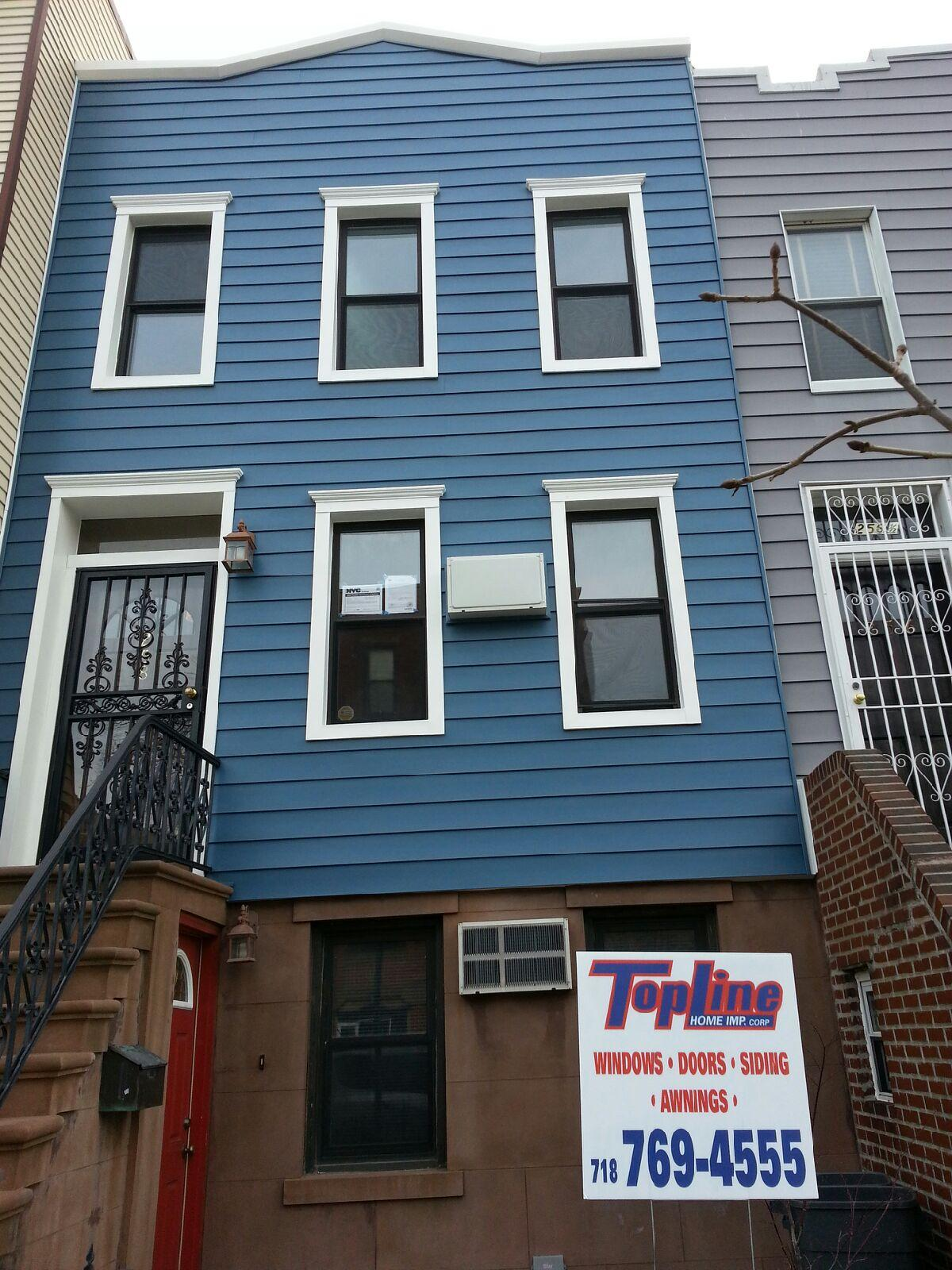 siding for house topline home improvement new york ny 10032