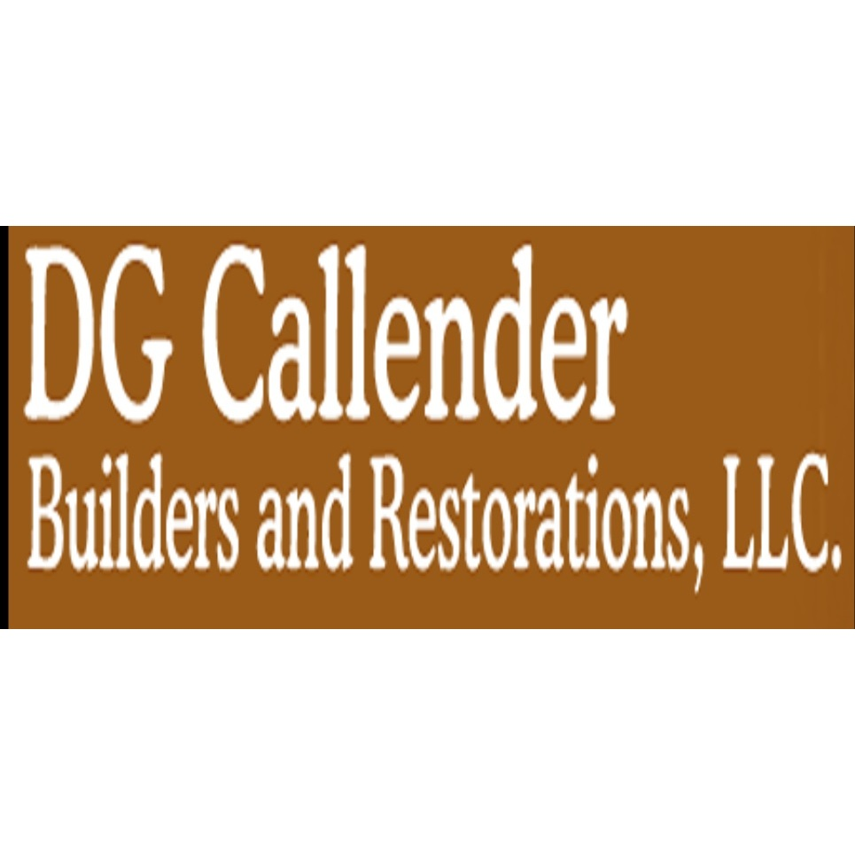 DG Callender Builders and Restorations LLC