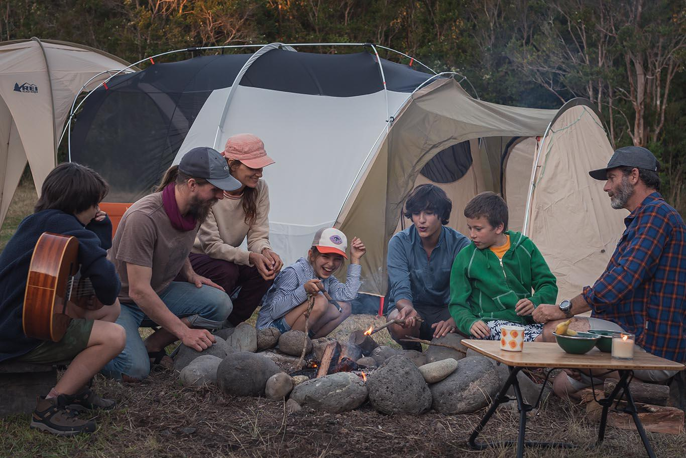 REI Campout with Natural Lands