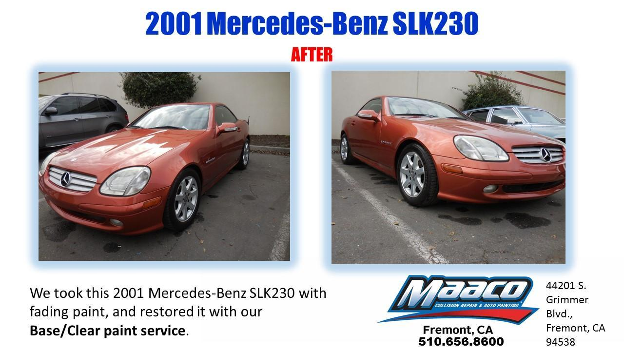 Maaco collision repair auto painting fremont california for Mercedes benz repair fremont ca