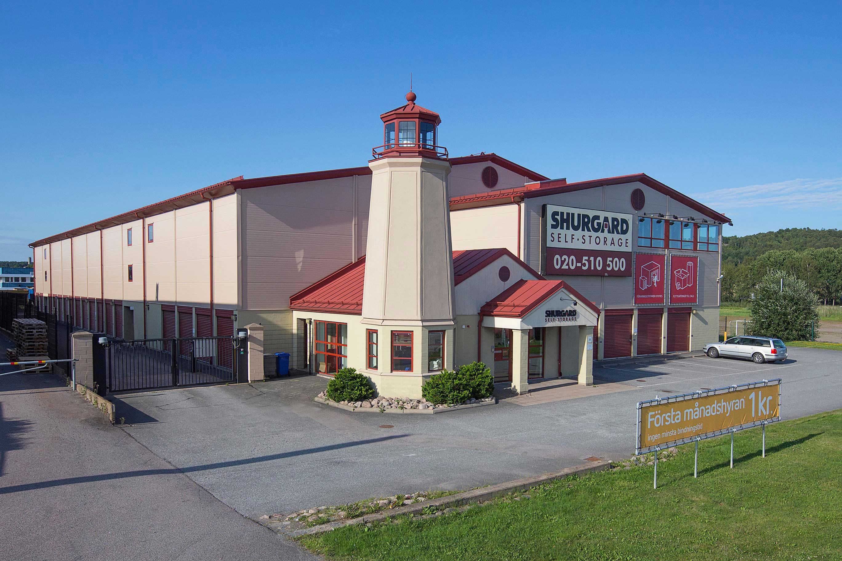 Shurgard Self-Storage Göteborg Backaplan