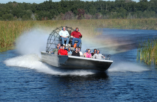 Boggy Creek Airboat Rides - Kissimmee, FL