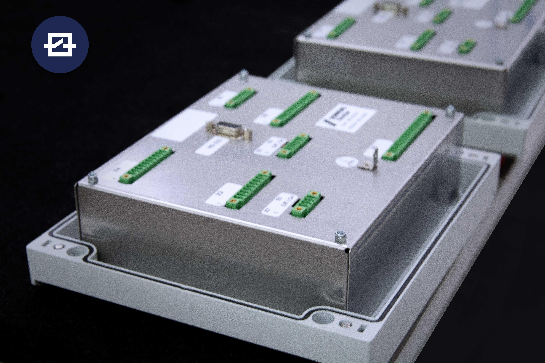 GESAS Regelungselektronik für mobile Betonmischer