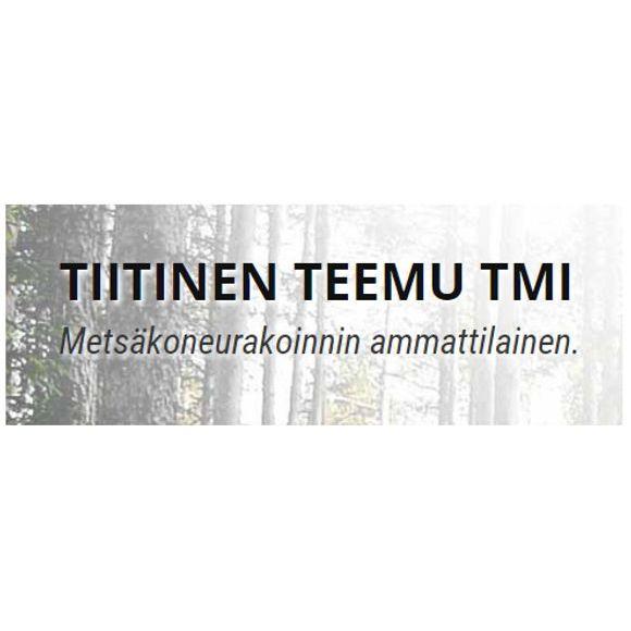 Metsäkoneurakointi Teemu Tiitinen Oy