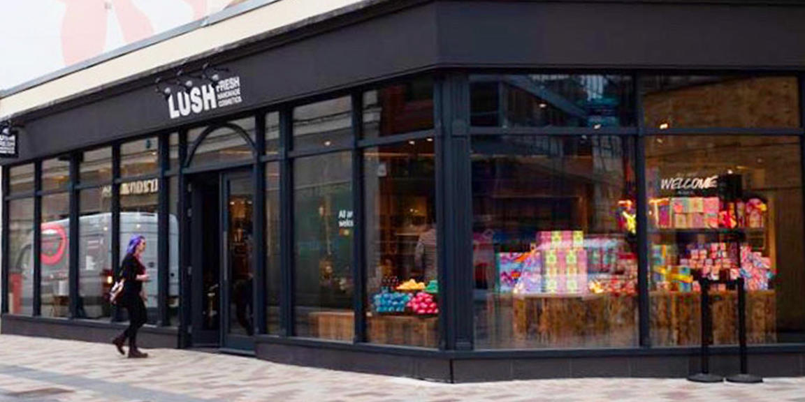 Belfast shop front