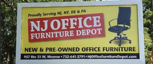 NJ Office Furniture Depot In Monroe Township NJ 08831