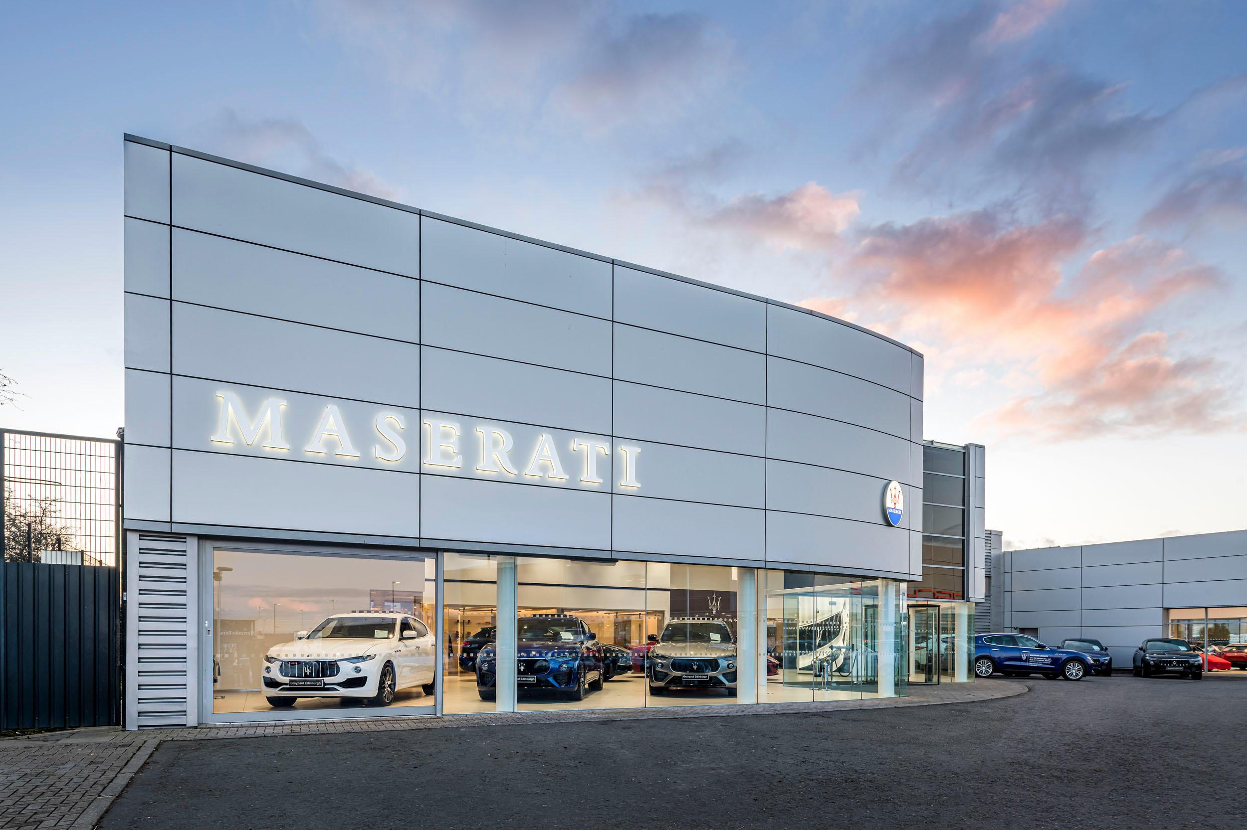 Graypaul Maserati Edinburgh Midlothain 01314 755000