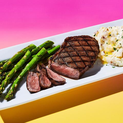Fire-Grilled Steak