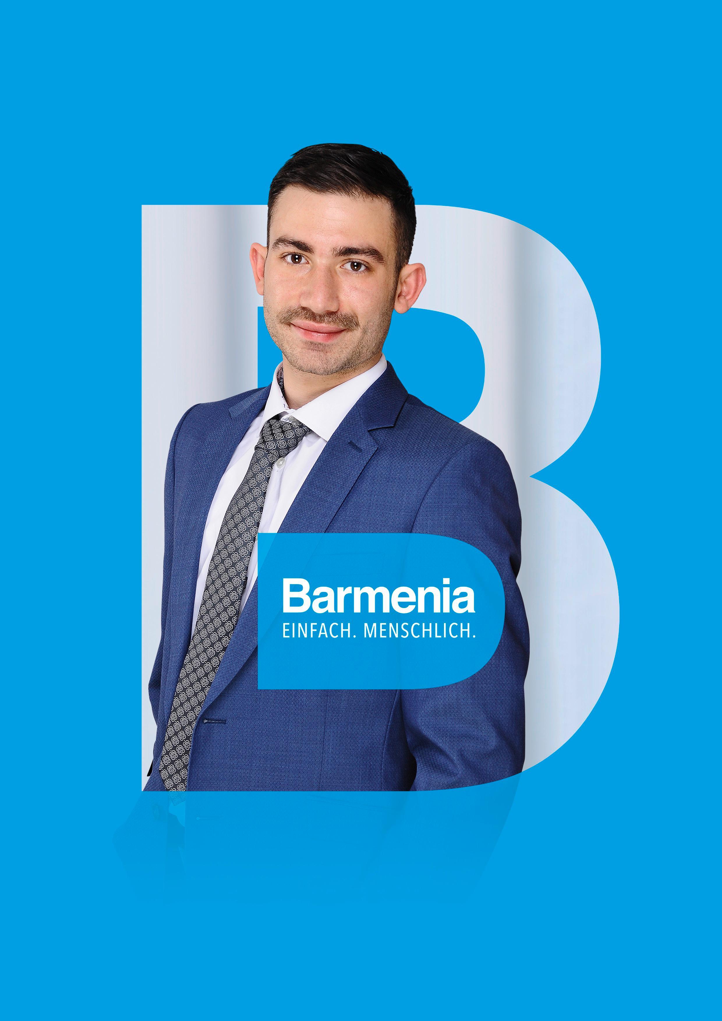 Sergen Söylemez. Ihr Ansprechpartner für die Barmenia Versicherung in Kleinostheim.