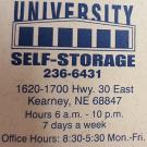 Downing Co, University Self Storage - Kearney, NE - Self-Storage