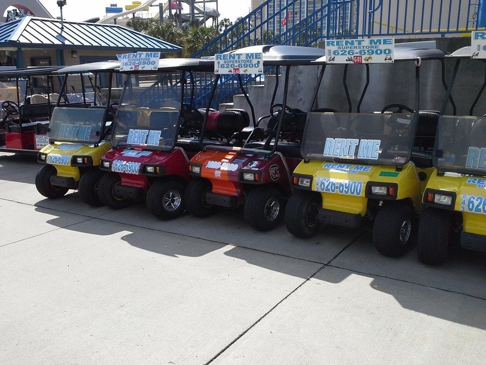 Golf Cart For Rent Myrtle Beach Sc