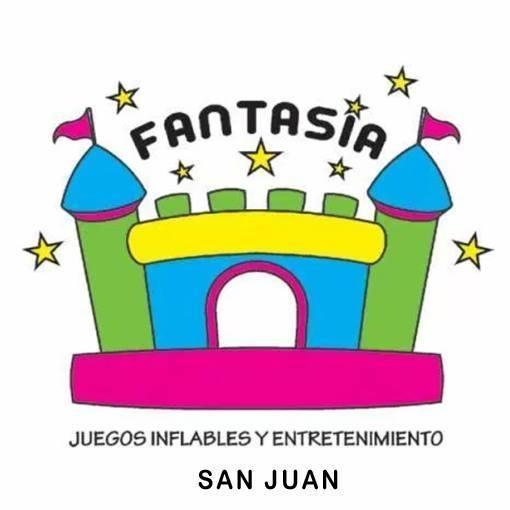 FANTASIA - CASTILLOS INFLABLES