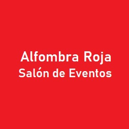 ALFOMBRA ROJA SALON DE EVENTOS