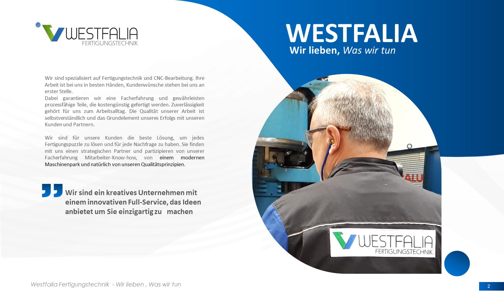 Westfalia-Fertigungstechnik GmbH Detmold