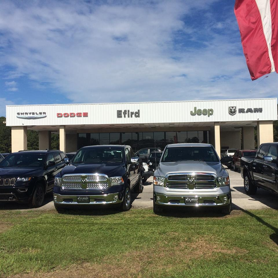 Efird Chrysler Dodge Jeep, Florence South Carolina (SC