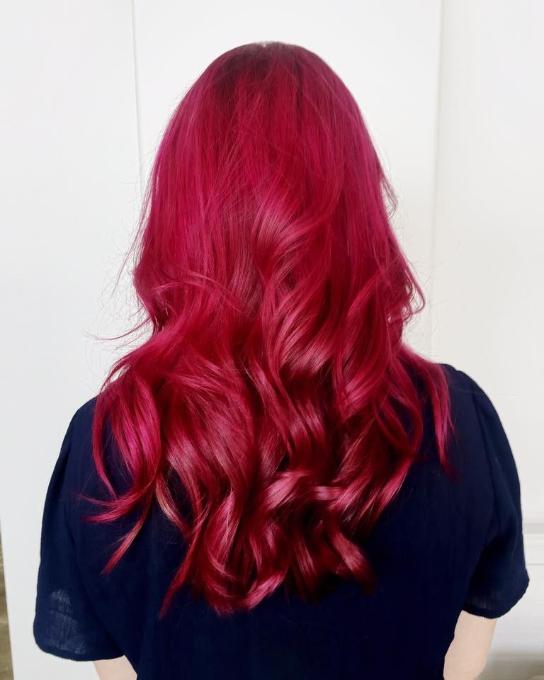 Wispers Hair & Day Spa in Cambridge: Red Hair Colour