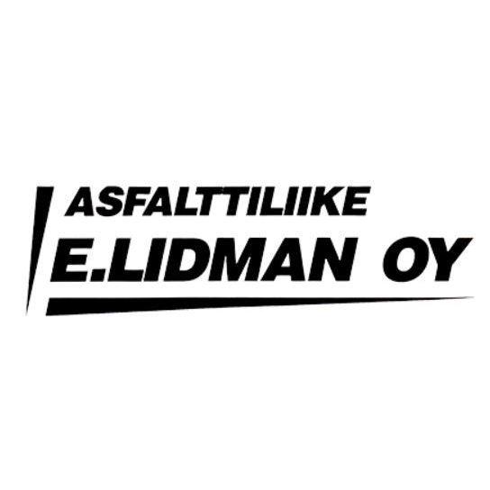 Asfalttiliike E Lidman Oy