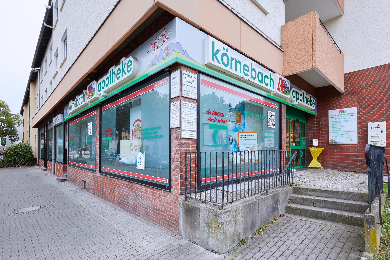 Aussenansicht der Körnebach-Apotheke