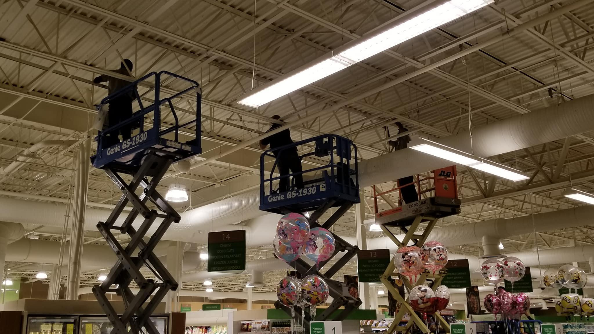 We sell, maintain, retrofit and service commercial and industrial lighting fixtures. http://www.akenergy.com/lighting-solutions/