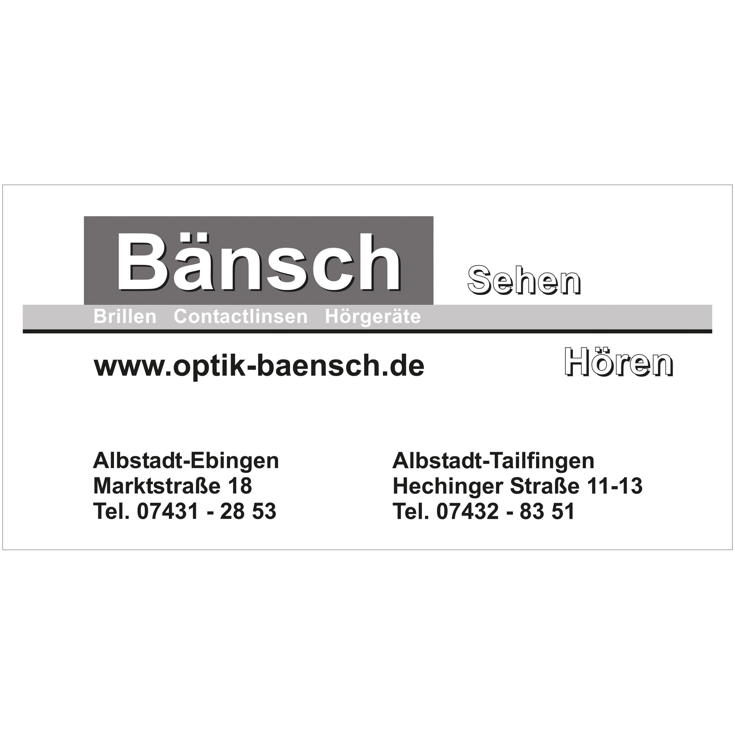 Bänsch OHG