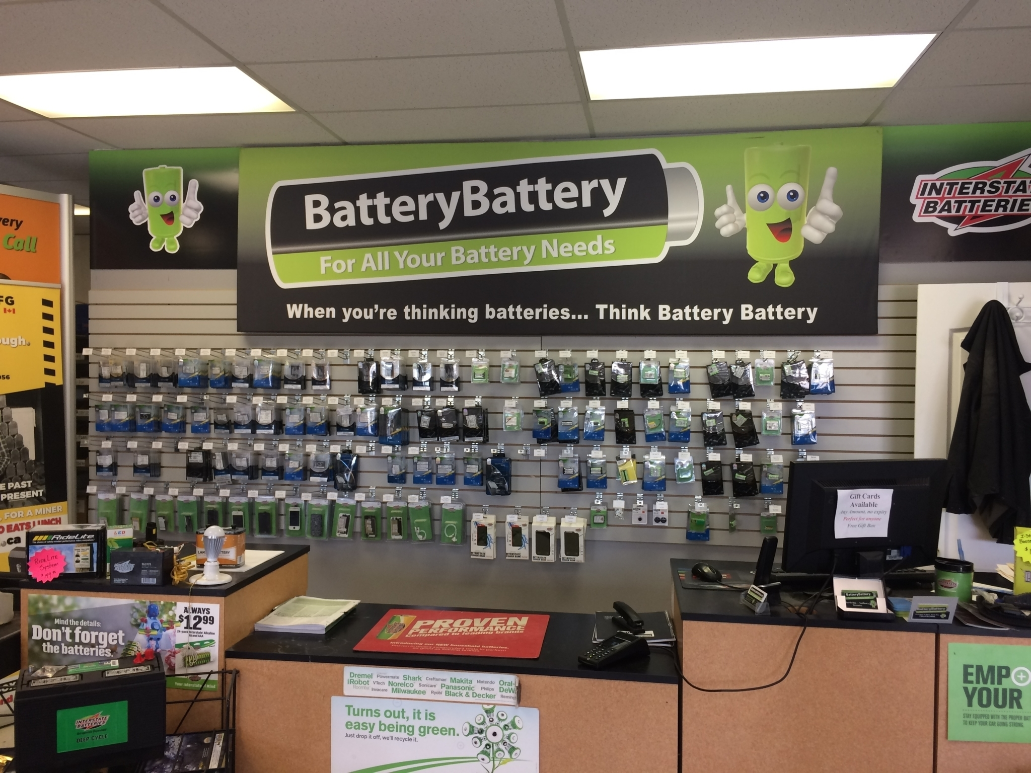 Battery Battery Sudbury in Sudbury: Batteries for Cell Phones, Cordless Phones, Walkie-Talkies and more!