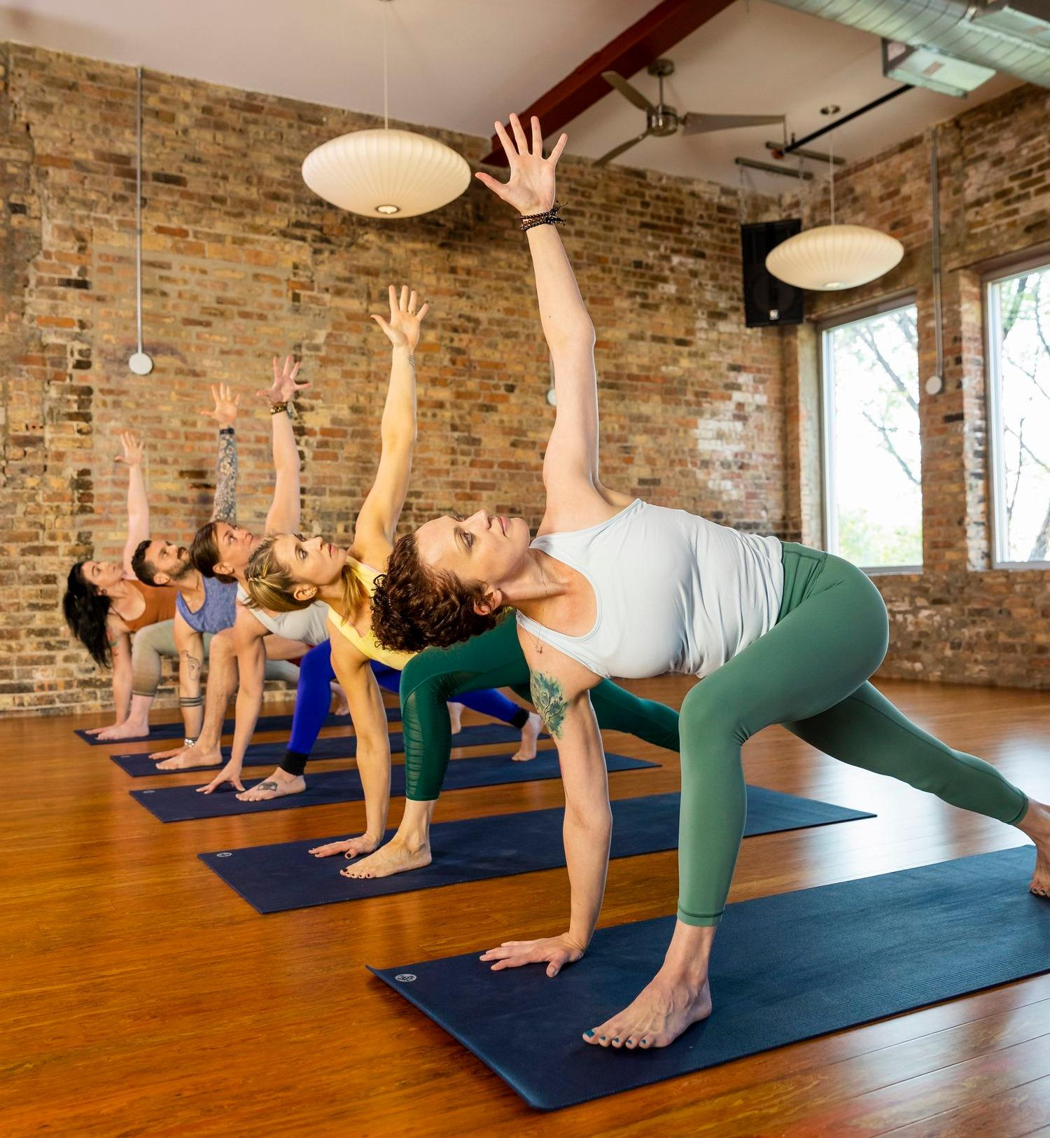 Get into your Zen mode at Chicago Athletic Clubs' Yoga/Mindbody classes!