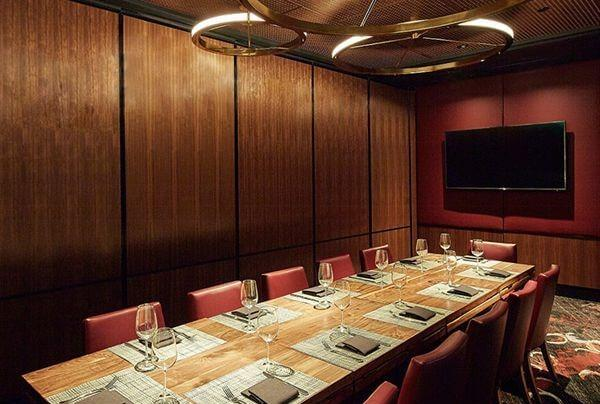 Del Frisco's Double Eagle Steak House Dallas Second Floor private dining room