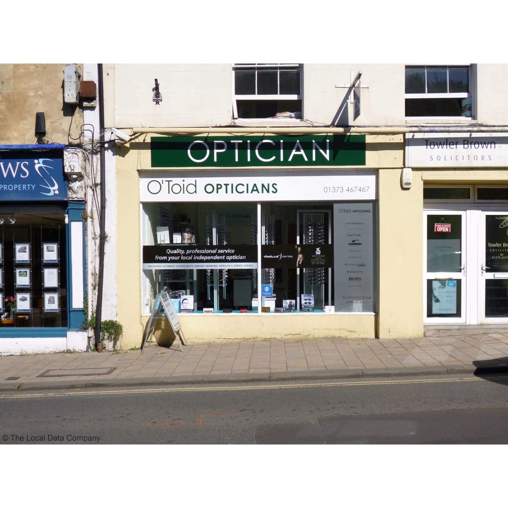 O'Toid Opticians - Frome, Somerset BA11 1AR - 01373 467467 | ShowMeLocal.com