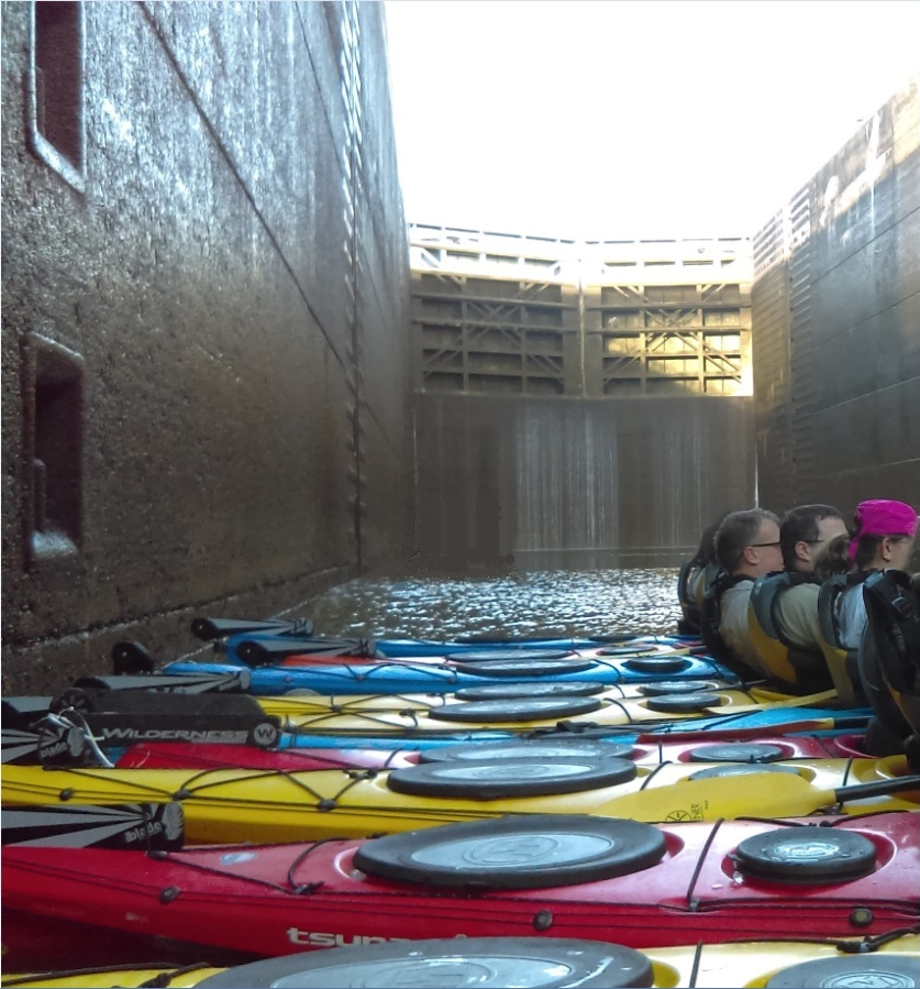 Chattanooga Kayak Tour - Chickamauga Dam Lock Through and Brews