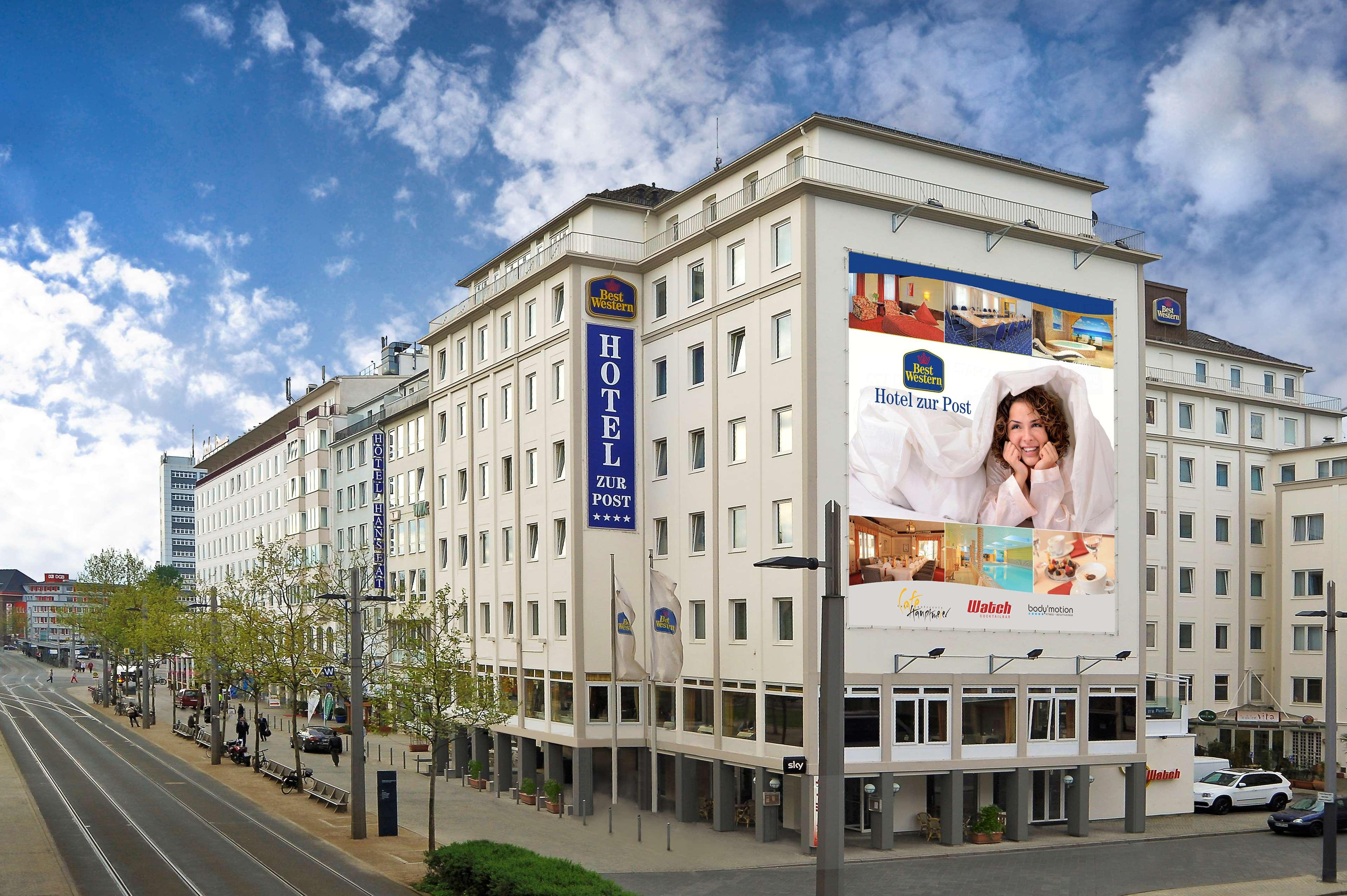 best western hotel zur post hotels hotels restaurants bremen deutschland tel 042130. Black Bedroom Furniture Sets. Home Design Ideas