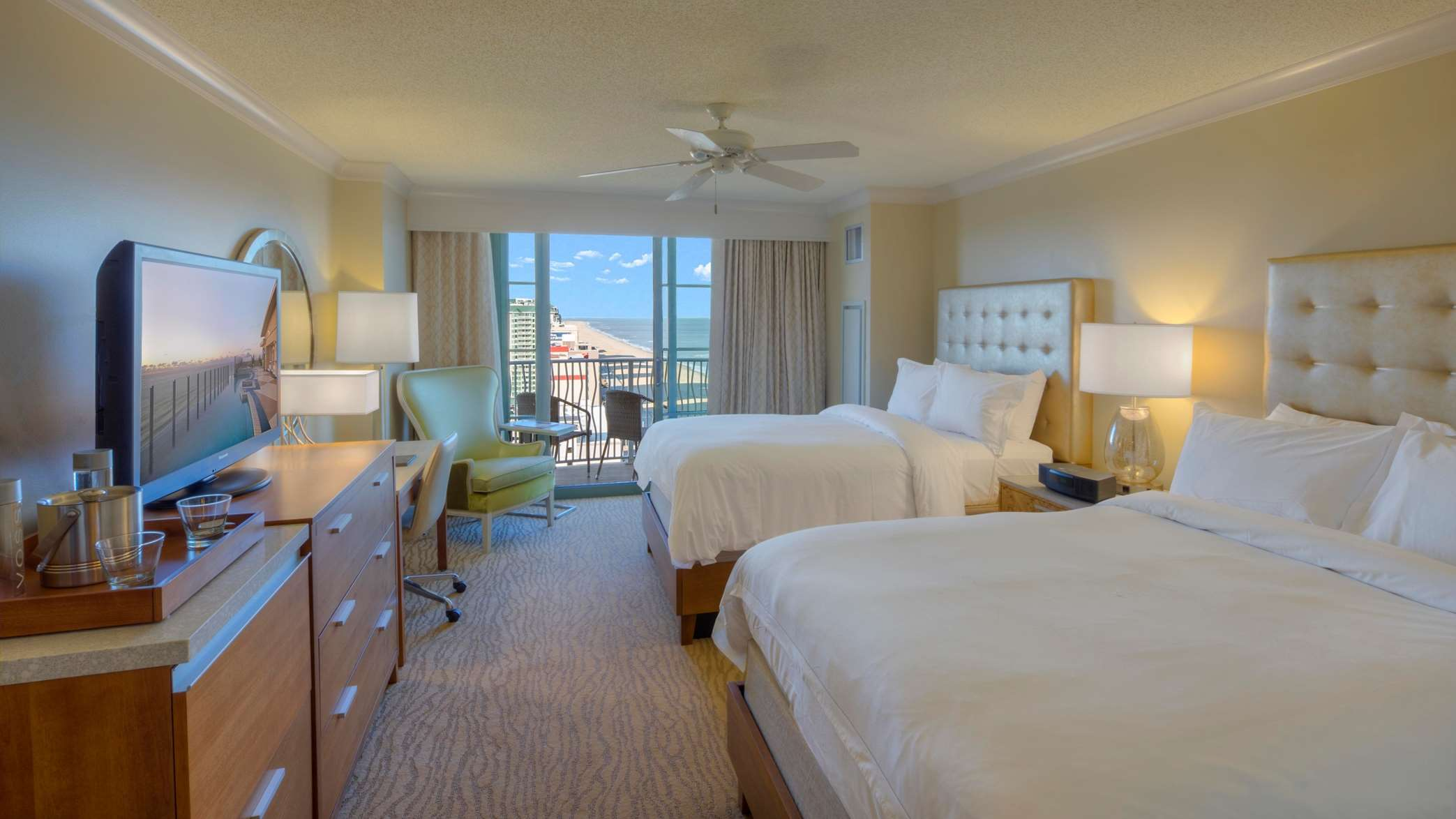 Two Double Ocean View Room