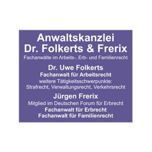 Bild zu Anwaltskanzlei Dr. Folkerts & Frerix in Wesel