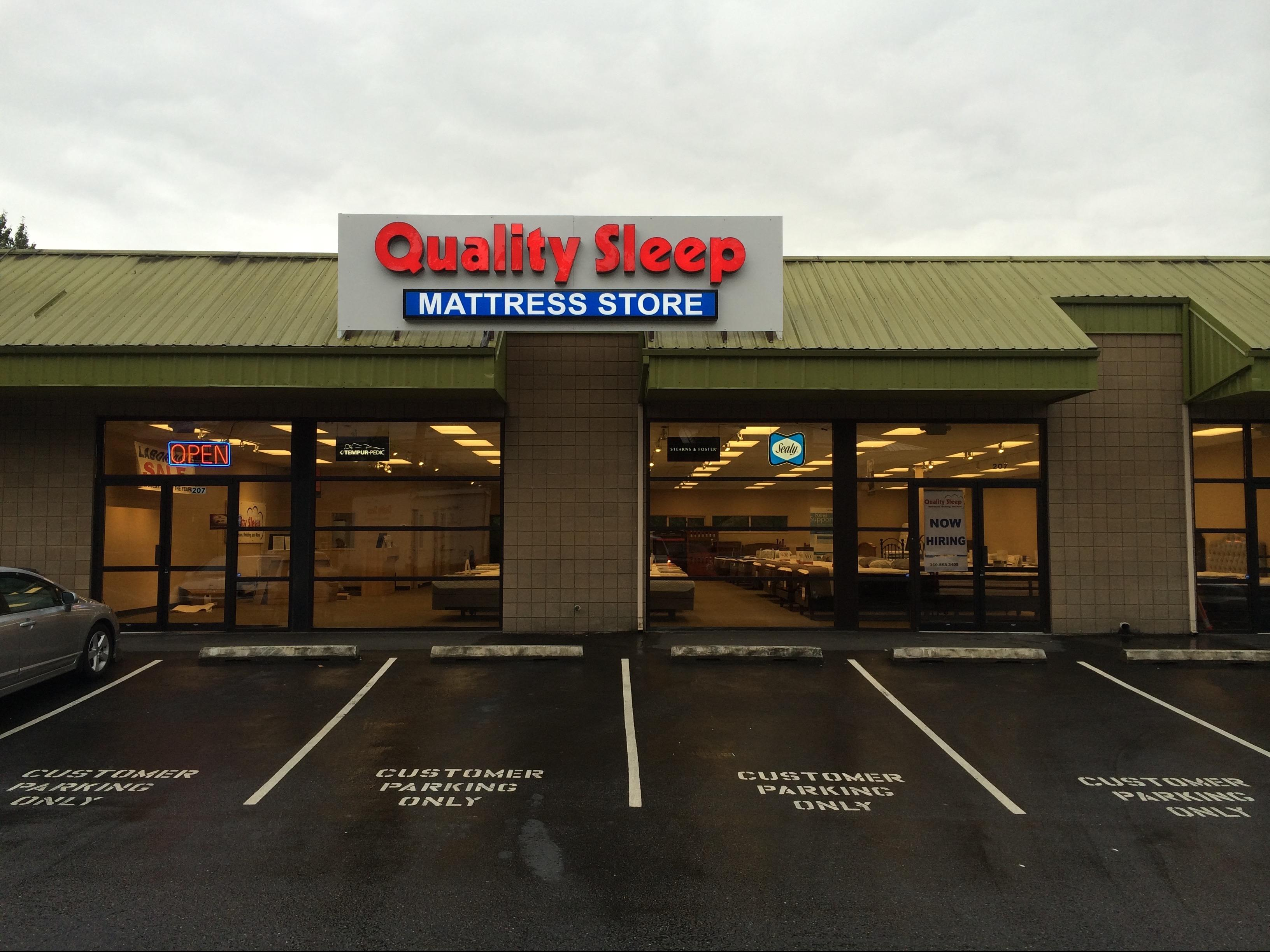 Quality sleep mattress store bellevue in bellevue wa for Furniture in bellevue