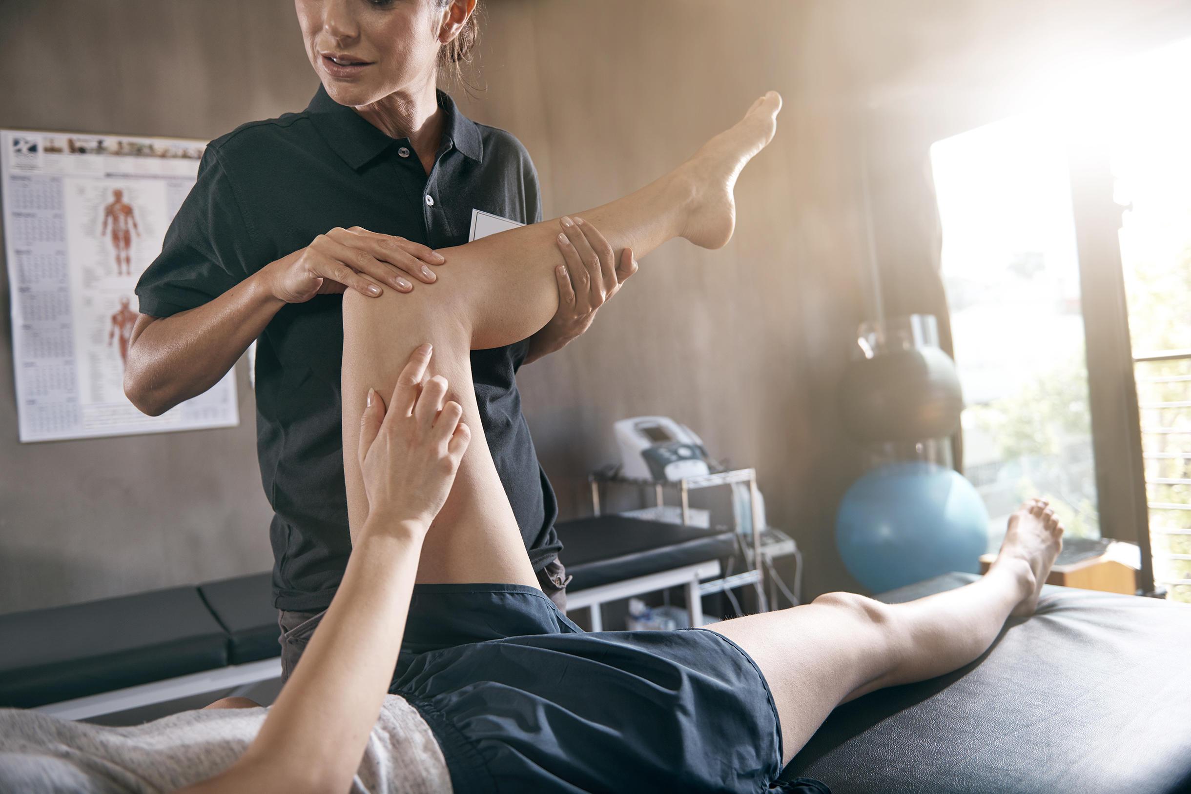 Marion Jehl, Physiotherapeutin