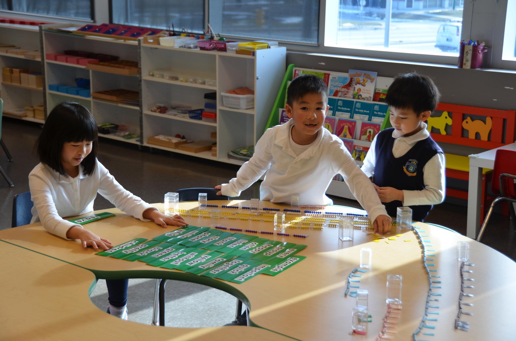 J Addison School in Markham: Montessori classes at J. Addison School