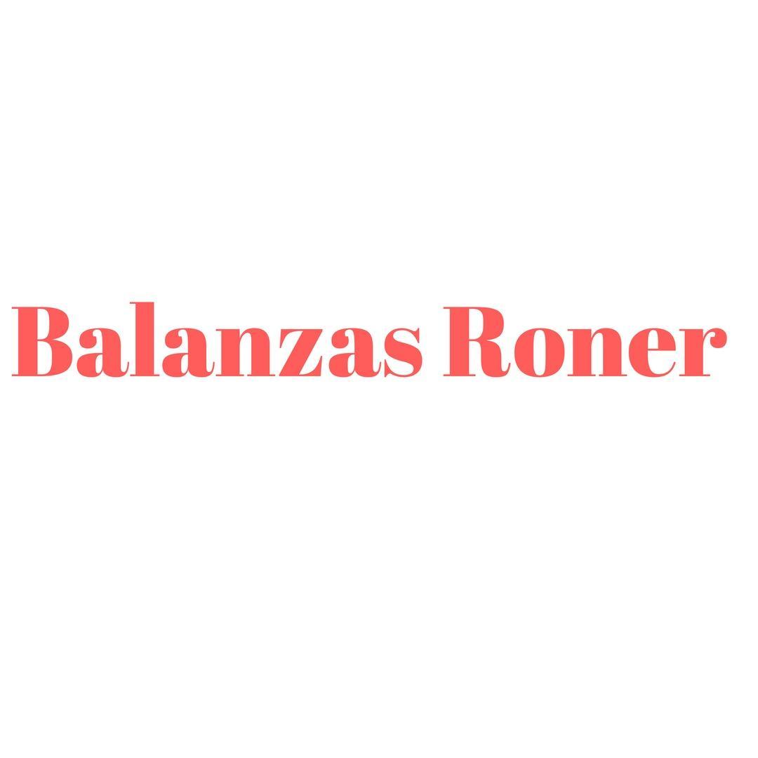 Balanzas Roner