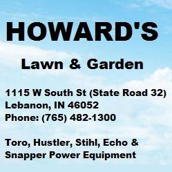 Howard's Lawn & Garden - Lebanon, IN - Lawn Care & Grounds Maintenance