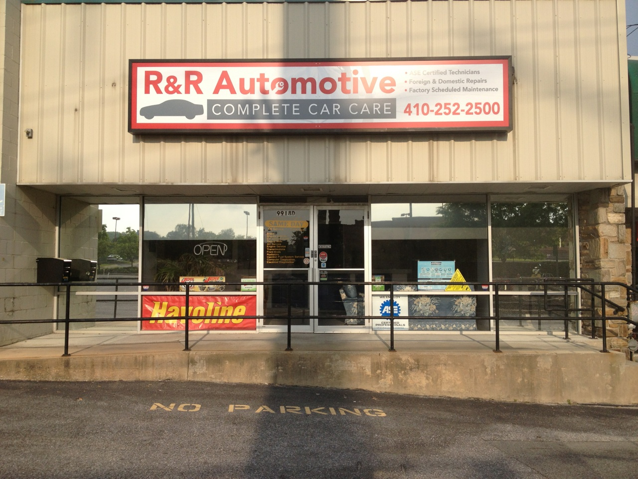 R R Automotive Services Cockeysville Maryland Md