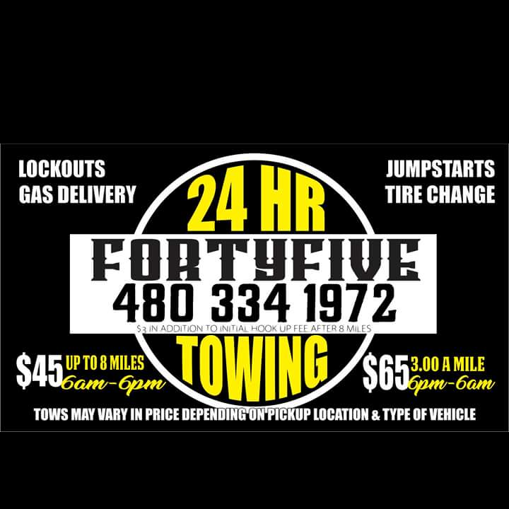 Forty Five Tow