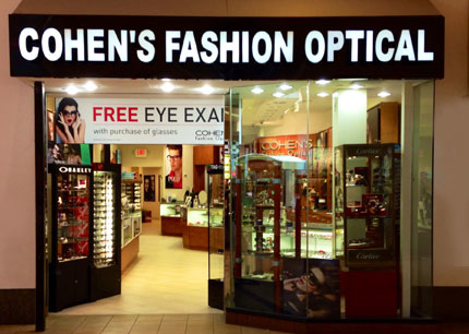 Cohen S Fashion Optical Smith Haven Mall Lake Grove Ny