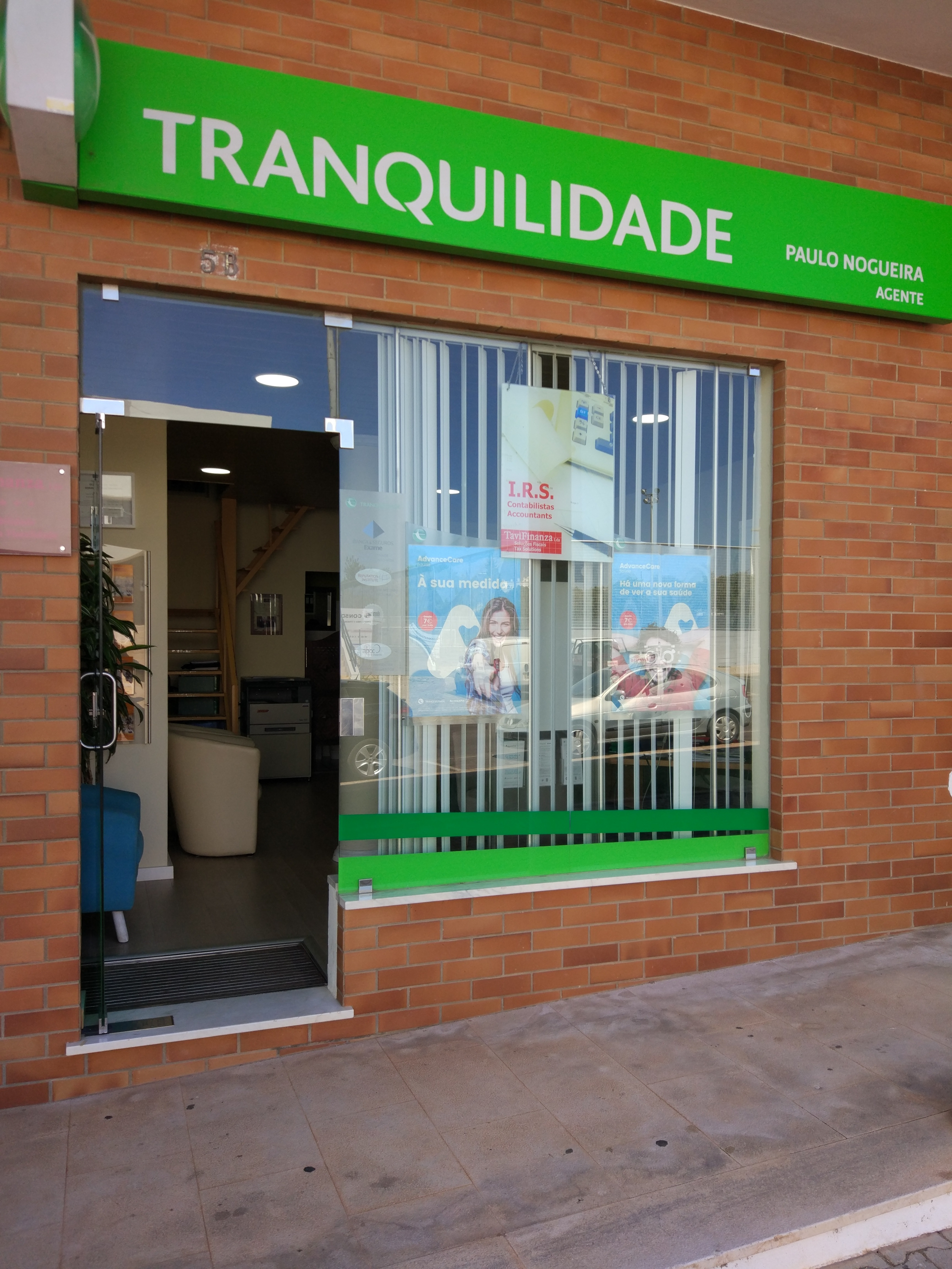 TRANQUILIDADE : LIVE INSURANCE MEDIACAO SEGUROS LDA