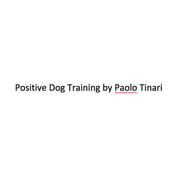 Positive Dog Training by Paolo Tinari